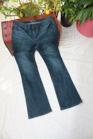 Levi's Pantalon cinq poches bleu foncé