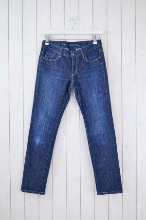 LEVI'S ECO Damen Jeans Mod. Low Skinny Dunkelblau Baumwollgem. Gr.6S/28