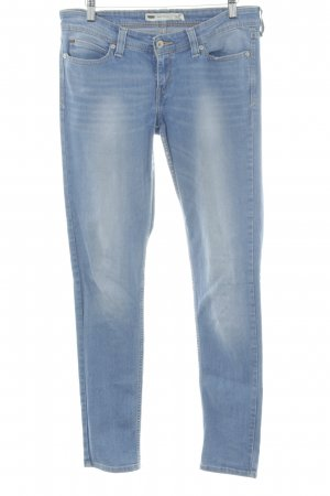 Levi's Five-Pocket-Hose stahlblau Casual-Look