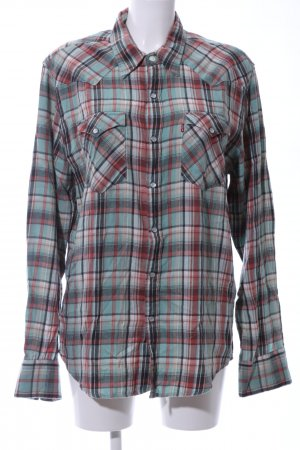Levi's Flannel Shirt check pattern casual look