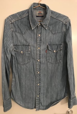 Levi's Camisa vaquera azul aciano