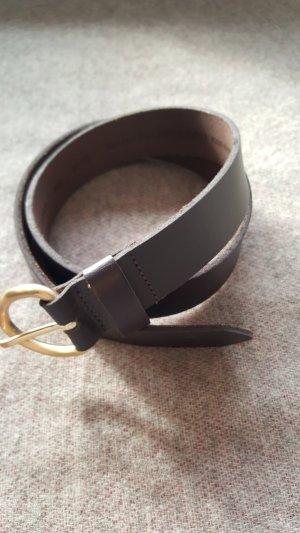 Levi's Leather Belt blackberry-red-brown violet