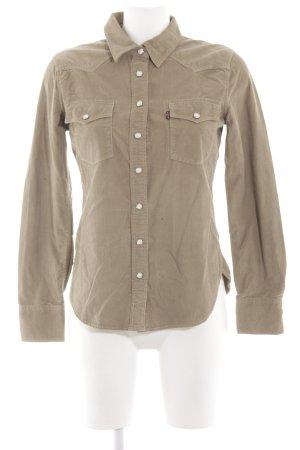 Levi's Hemd-Bluse khaki Street-Fashion-Look