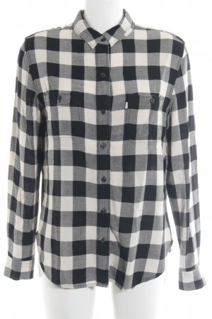 Levi's Shirt Blouse black-white check pattern boyfriend style
