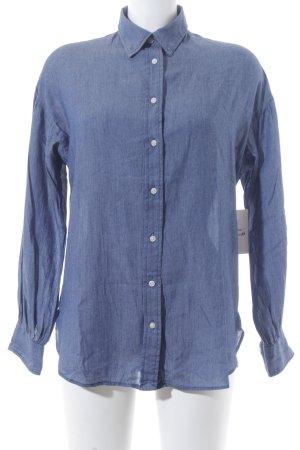 Levi's Hemd-Bluse stahlblau Casual-Look