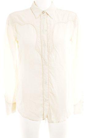 Levi's Hemd-Bluse wollweiß klassischer Stil