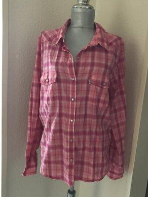 Levi's Hemd rose'/pink kariert