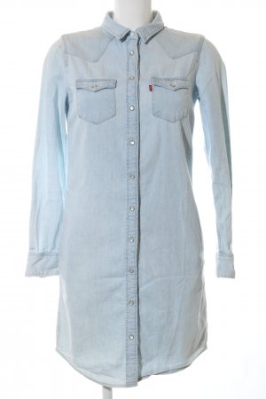 Levi's Shirtwaist dress blue casual look