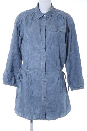 Levi's Hemdblusenkleid himmelblau Jeans-Optik