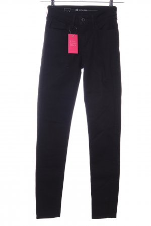 Levi's Pantalon taille haute noir style décontracté