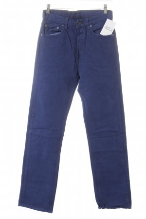 Levi's High-Waist Hose stahlblau Casual-Look