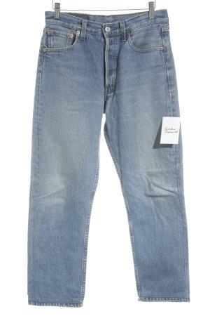 "Levi's High Waist Jeans ""501"" blassblau"