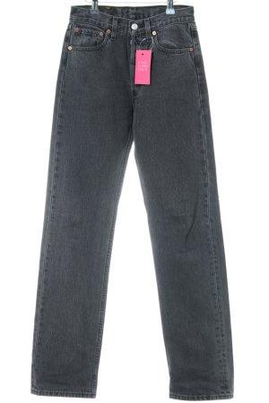 "Levi's High Waist Jeans ""501"" schwarz"