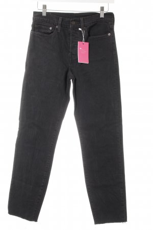 Levi's High Waist Jeans anthrazit Casual-Look