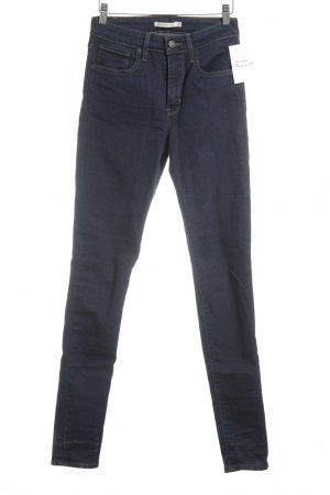 Levi's High Waist Jeans blau Casual-Look