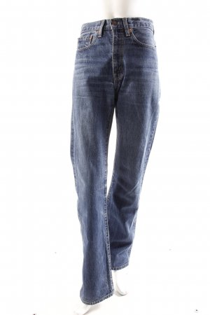 Levi's High Waist-Jeans blau