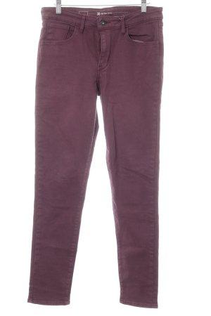Levi's High Waist Jeans braunviolett Casual-Look