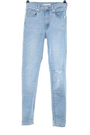 "Levi's High Waist Jeans ""Mile High Super Skinny"" blau"