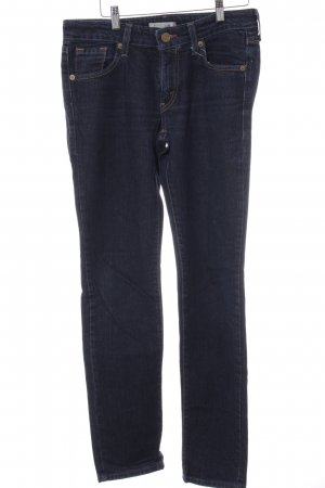 Levi's High Waist Jeans dunkelblau Casual-Look