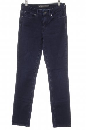 Levi's High Waist Jeans dark blue casual look