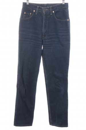 Levi's High Waist Jeans dunkelblau Jeans-Optik