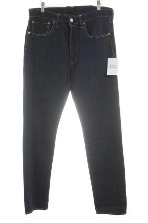 Levi's High Waist Jeans dunkelblau Vintage-Look