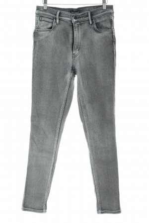 Levi's High Waist Jeans grey-light grey casual look