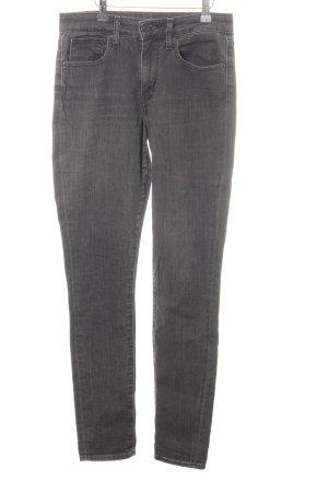 Levi's High Waist Jeans grau meliert Jeans-Optik