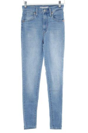 Levi's High Waist Jeans hellblau-blassblau Jeans-Optik
