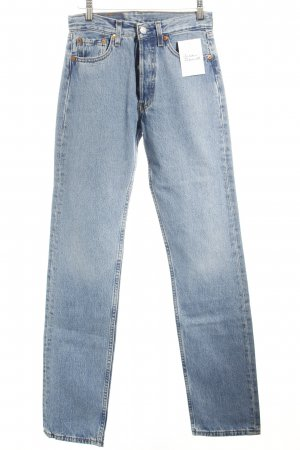 Levi's High Waist Jeans hellblau Casual-Look
