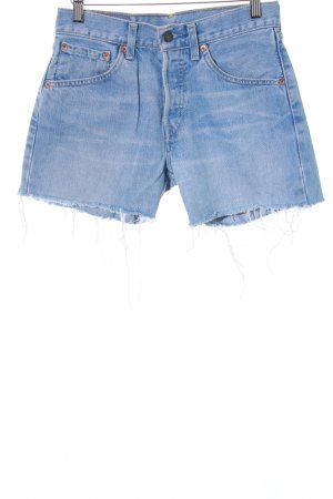 Levi's Hoge taille jeans lichtblauw Jeans-look