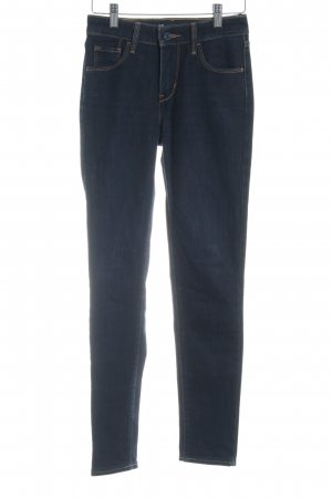 "Levi's Hoge taille jeans ""High Rise Skinny"" donkerblauw"