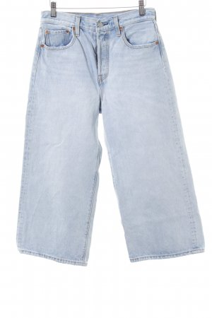 Levi's Hoge taille jeans azuur casual uitstraling