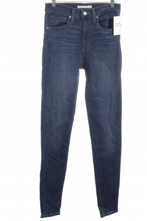 """Levi's Hoge taille jeans """"Mile High Super Skinny"""" staalblauw"""