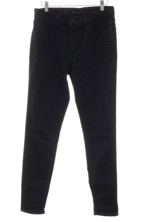 Levi's High Waist Jeans schwarz-anthrazit Casual-Look