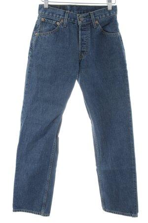 Levi's High Waist Jeans stahlblau 90ies-Stil