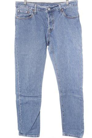 Levi's Jeans a vita alta blu acciaio stile jeans