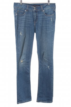 Levi's Hoge taille jeans staalblauw Jeans-look