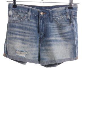 Levi's High-Waist-Shorts blau Casual-Look