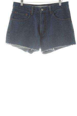 Levi's Short taille haute bleu style simple