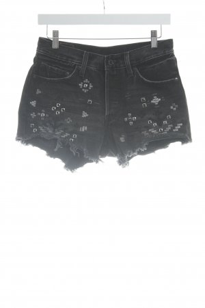Levi's High-Waist-Shorts taupe Casual-Look