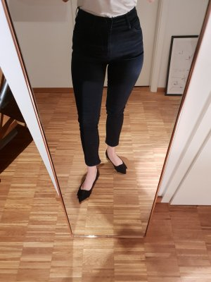 Levi's High Waisted Skinny in dunkelblau