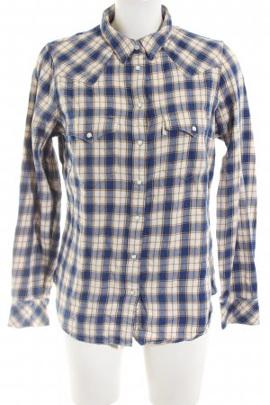 Levi's Lumberjack Shirt blue-cream allover print casual look