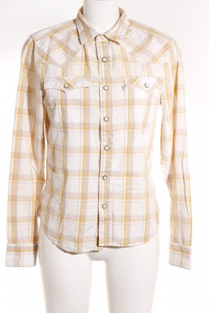 Levi's Lumberjack Shirt beige-gold orange check pattern casual look
