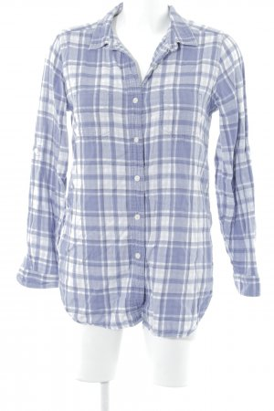 Levi's Houthakkershemd blauw-paars-wit geruite print casual uitstraling