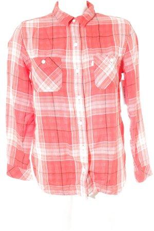Levi's Houthakkershemd geruite print boyfriend stijl