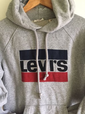Levi's Hooded Sweater light grey