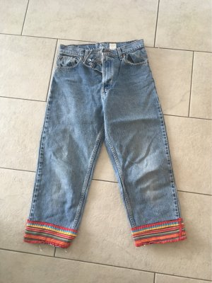 Levi's Jeans a 3/4 blu fiordaliso-rosso