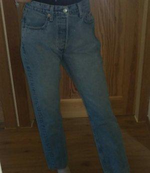 Levi's Lage taille broek lichtblauw