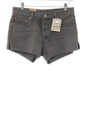 Levi's Hot Pants graubraun Casual-Look